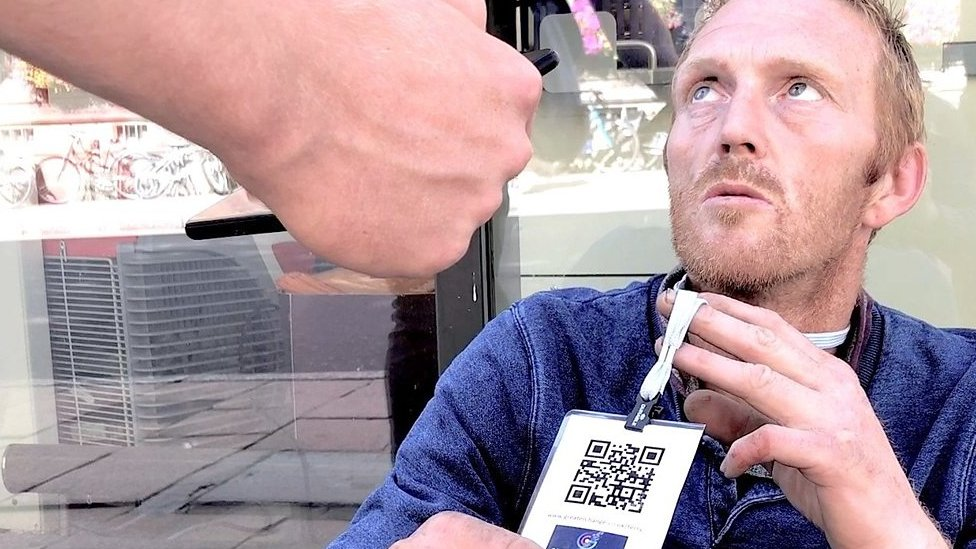 QR codes for the homeless?