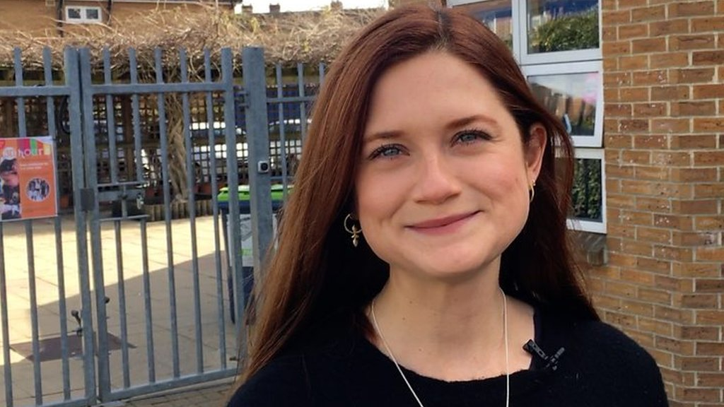 Harry Potter star Bonnie Wright joins kids' plastic toy push