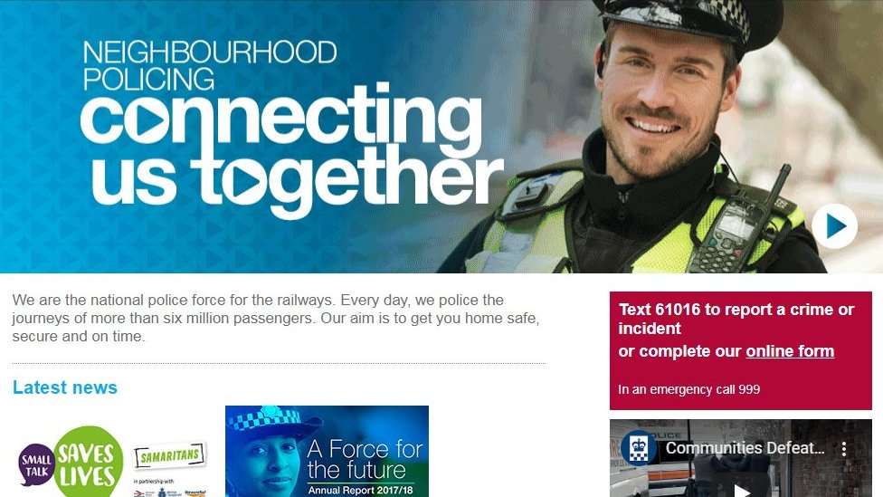 british+transport+police+website+hacked