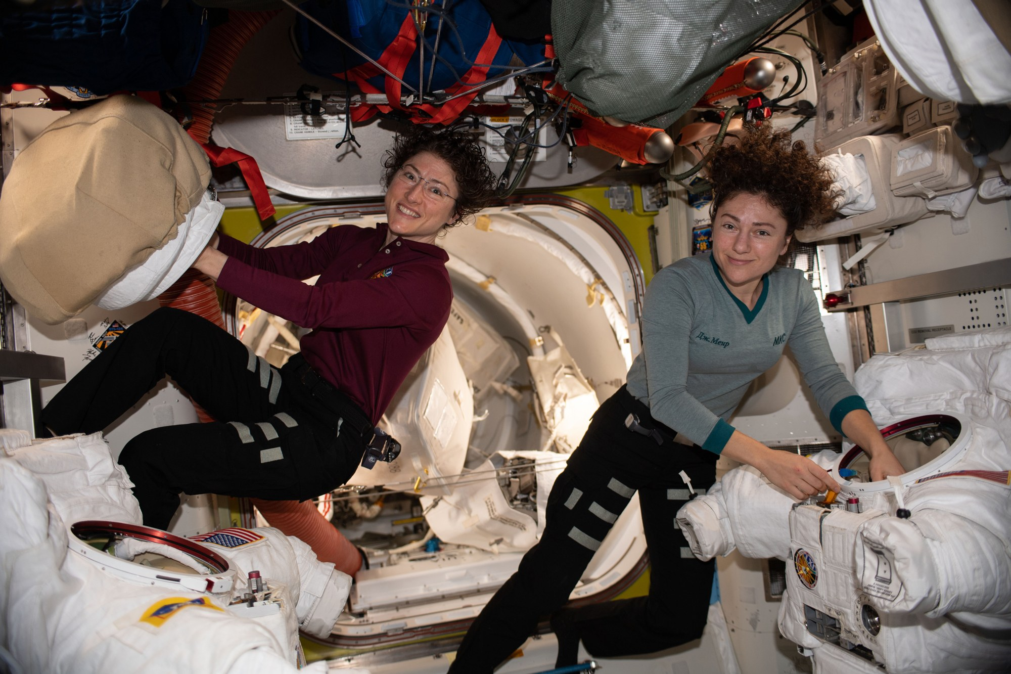 Christina Koch and Jessica Meir: The Stellar Women of the ISS