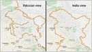 Workers on Google's outsourced maps team say they alter maps based not just on history and local laws but also on whims of diplomats and Google executives (Greg Bensinger/Washington Post)