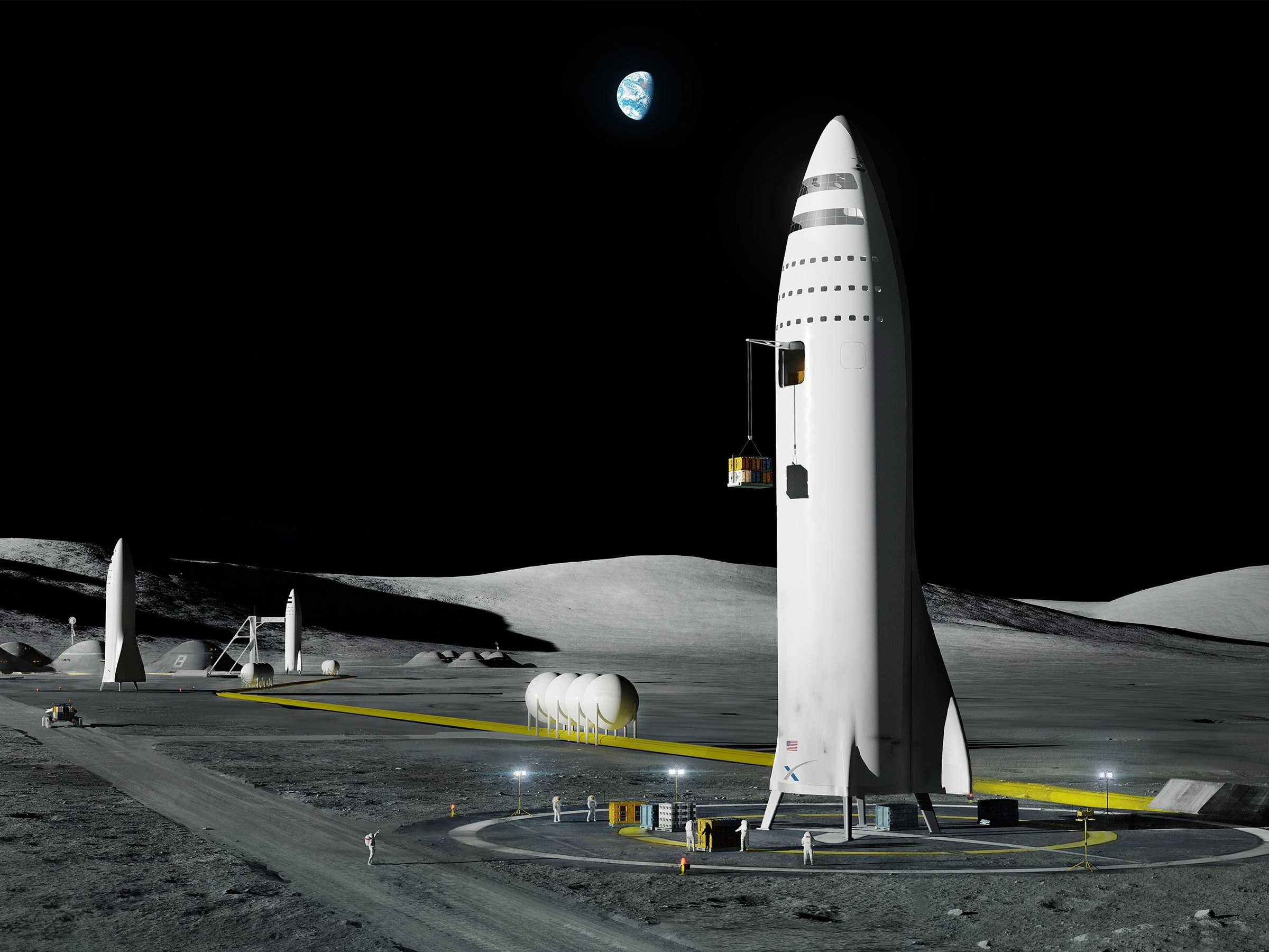 Tonight: Watch SpaceX Announce Its First Passenger to the Moon