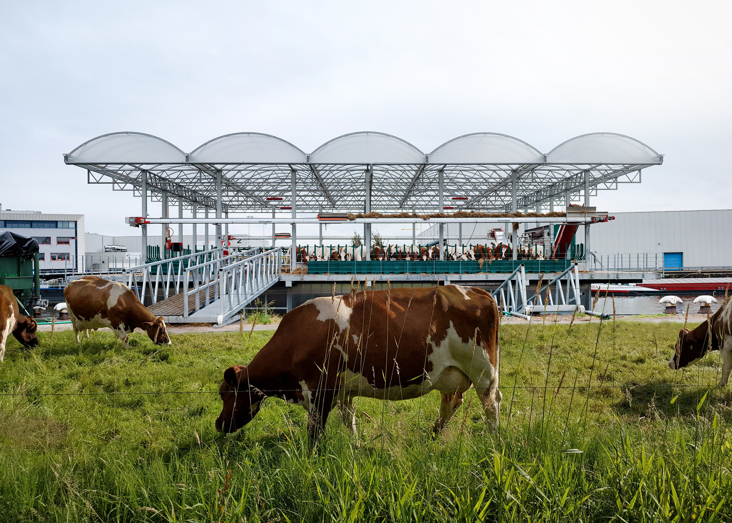 Floating Farms Point the Way to Alternative Food Ecosystems