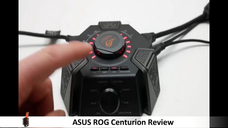 asus rog centurion review