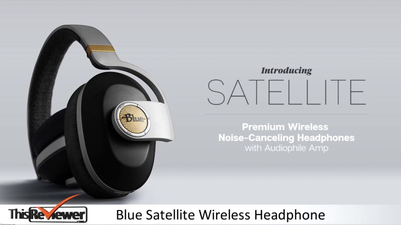 blue satellite wireless headphone review
