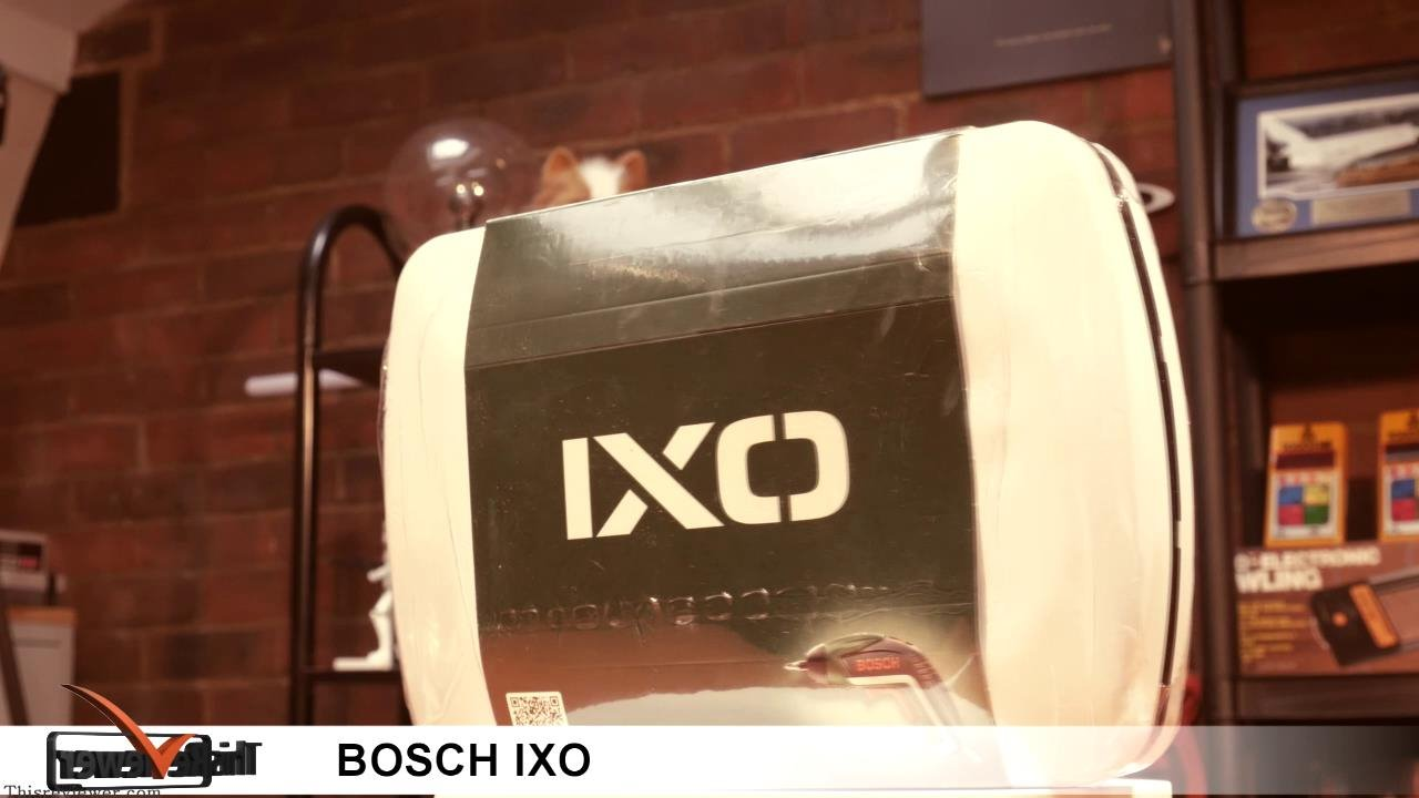 bosch ixo review