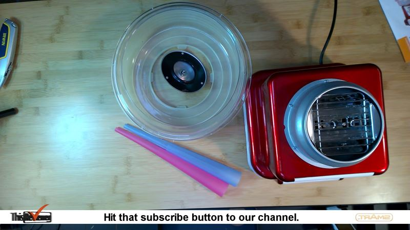 candy_floss_maker_review what's in the box
