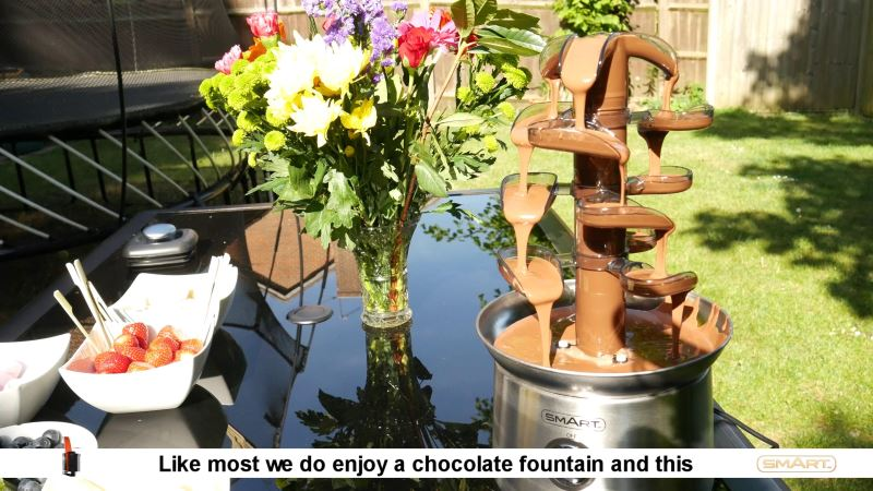 cascading chocolate fountain review