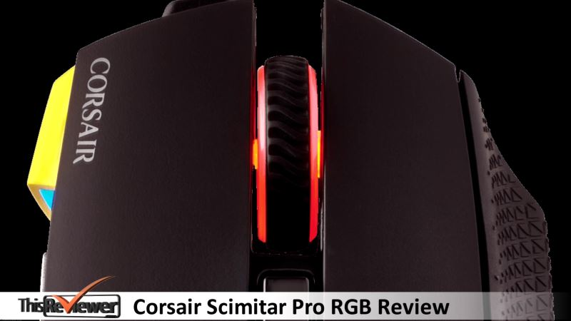 corsair scimitar pro review a great gaming mouse