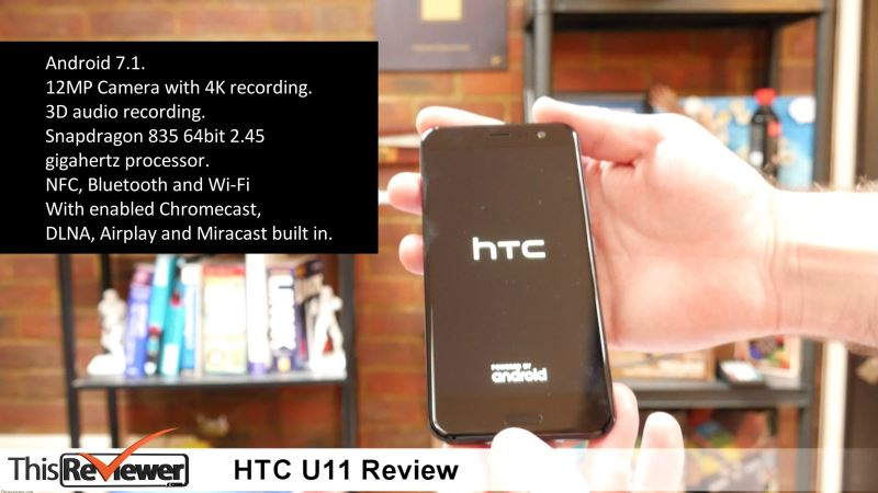 htc u11 first squeezable phone review