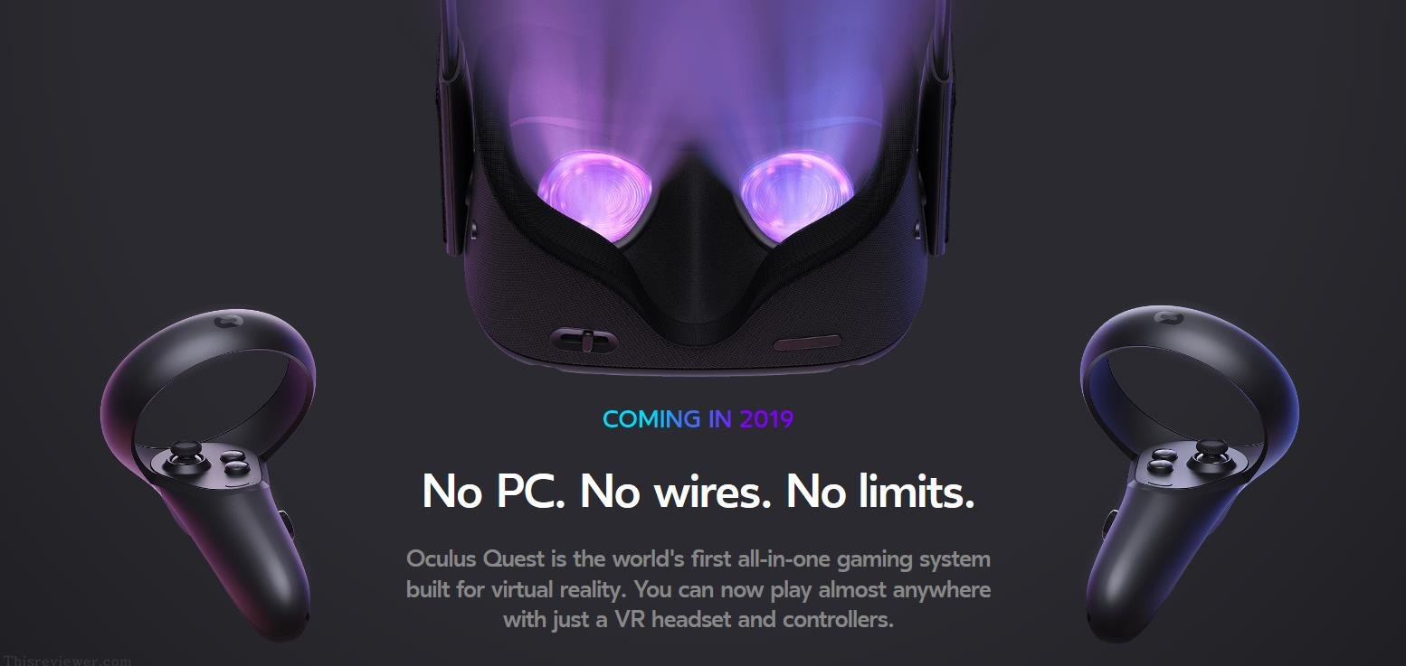oculus quest out soon