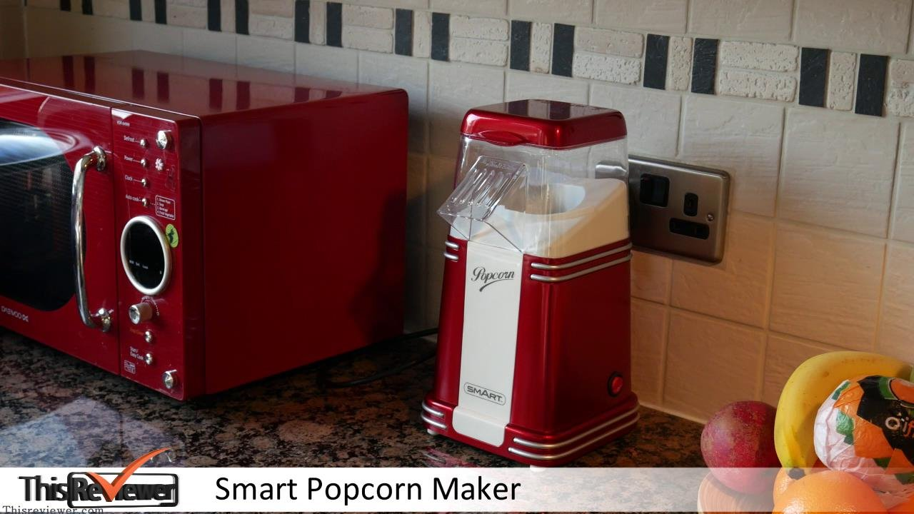popcorn maker review smart