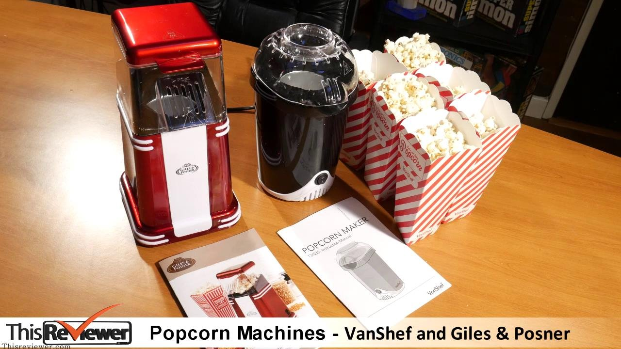 popcorn makers review
