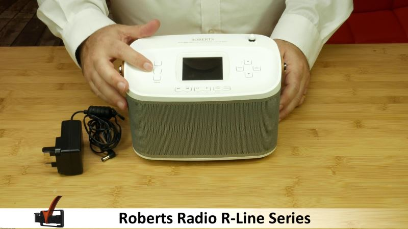 roberts radio, roberts r100 radio review and unboxing