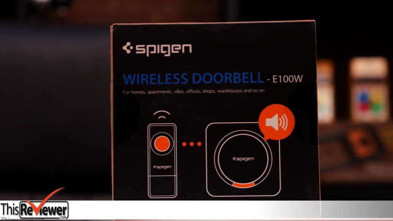 the spigen wireless doorbell review