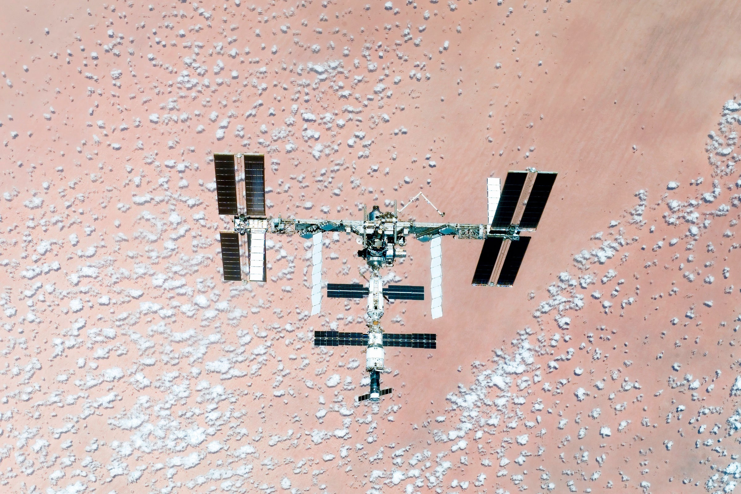 Sneaky New Bacteria on the ISS Could Build a Future on Mars