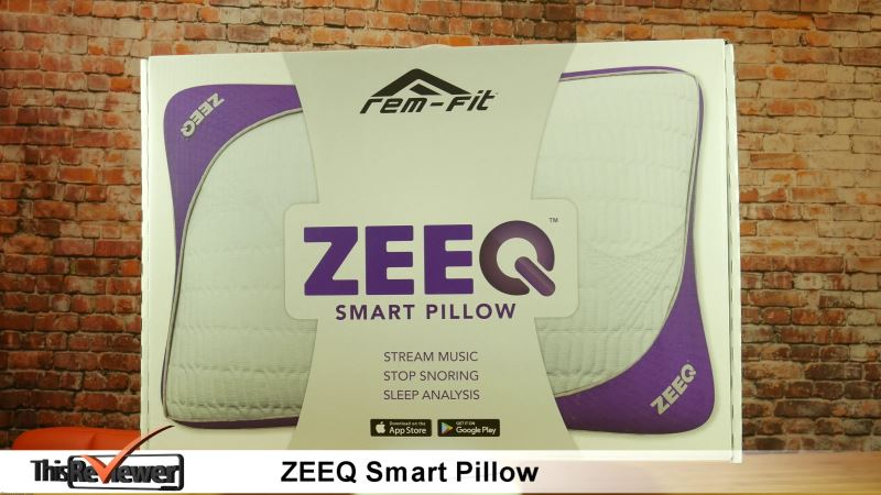 anti snore zeeq smart pillow review