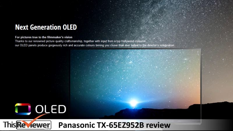 panasonic tx oled 65 inches review