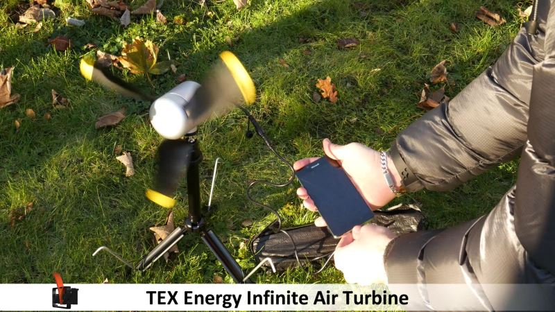 portable wind turbine by tex energy infinite air