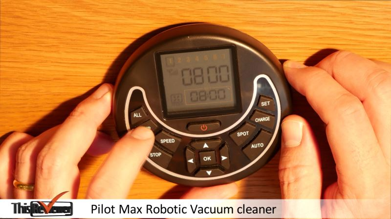 robotic_vacuum_pilot_max_review pilot max robotic vacuum remote and calendar.