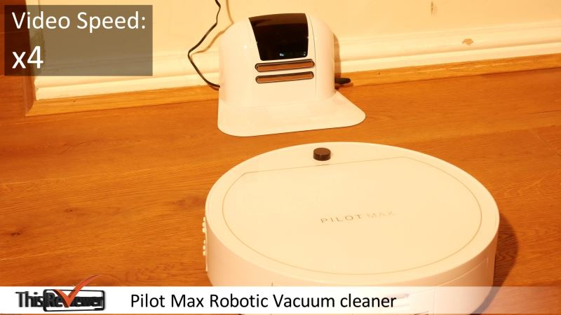 robotic_vacuum_pilot_max_review pilot max robotic vacuum pyramid shaped optical block