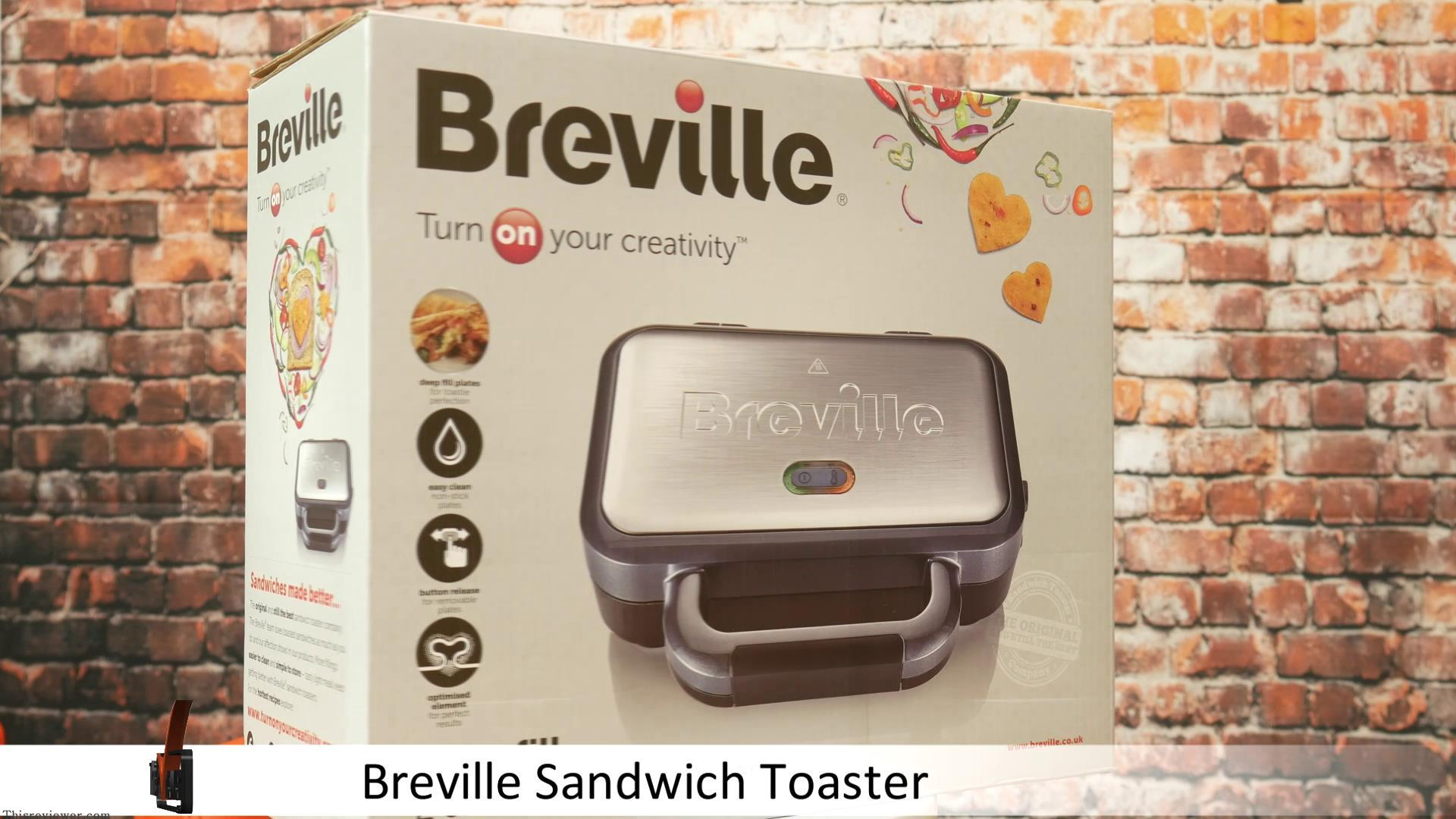 sandwich toaster breville review