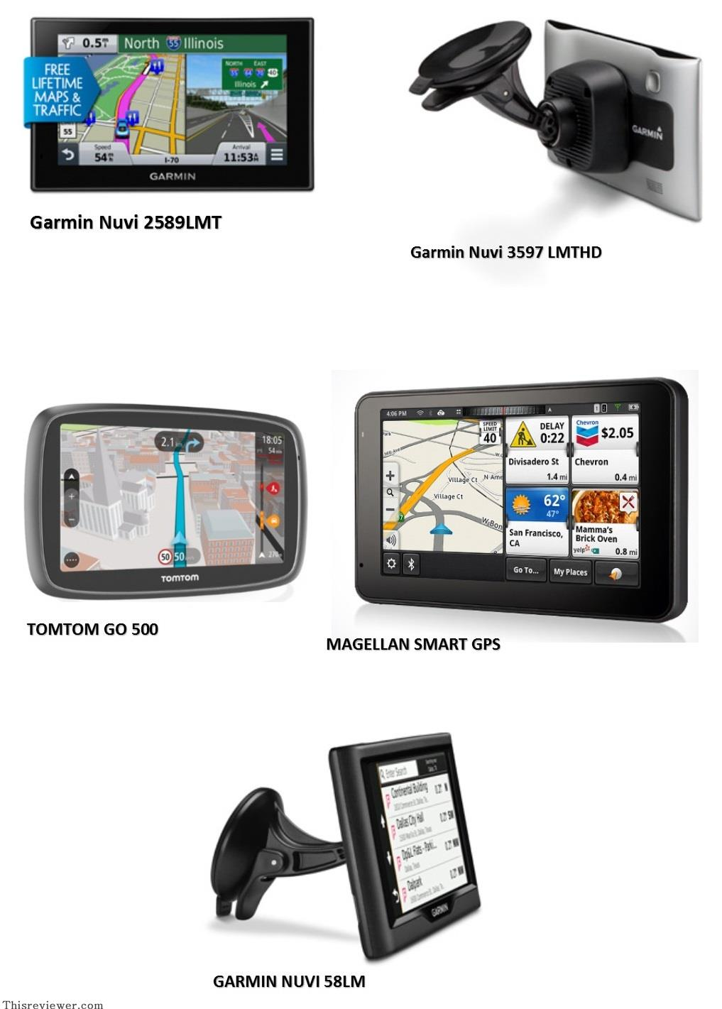 top 5 gps for your car review